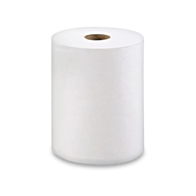 """10"""" White Roll Towel"""