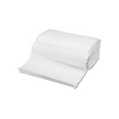 Single Fold Towels White