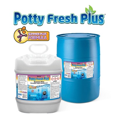 Summer Plus Portable Toilet Deodorant Ready To Use Pail